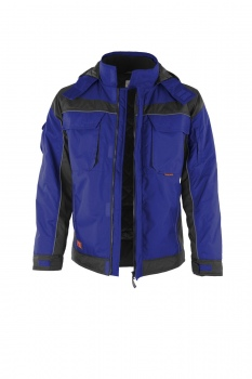 Winterjacke Qualitex PRO Winter kornblau/schwarz