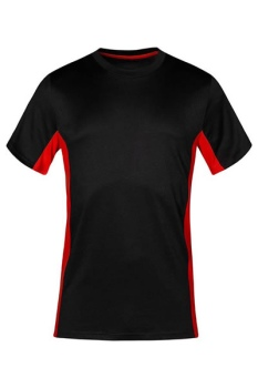 T-Shirt Promodoro Function 3580 - black/red
